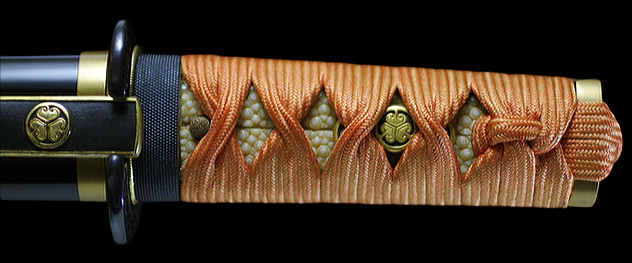 【短刀】 備州長船信元 応安七年六月日――倉敷刀剣美術館
